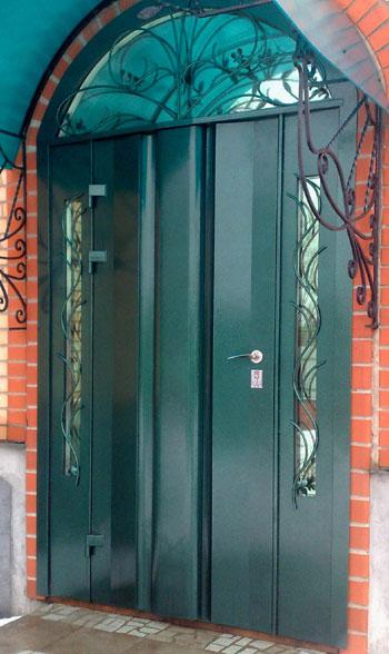 входные металлические двери на заказ для частного дома в первомайском