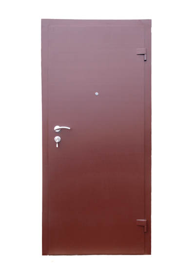 обычная металлическая дверь купить